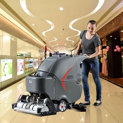 Подметально-поломоечная уборочная машина GM-65RBT