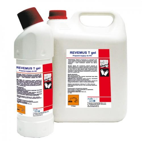 REVEMUS T GEL для унитазов, санузлов, настенной и напольной плитки 5l