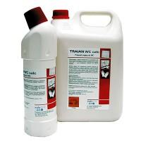 TRAIAN WC CALC Средство для чистки керамических поверхностей в санитарной комнате