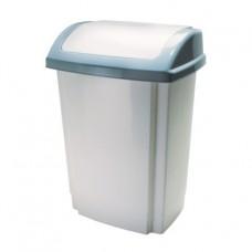 SWING Пластмассовaя корзина для мусора, 25л с крышкой