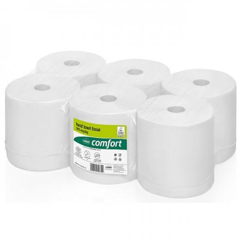 WEPA Бумажные полотенца в рулонах для сенсорных диспенсеров, неперфорированные, белые