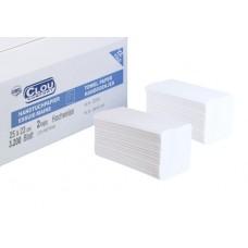 Wepa Листовые полотенца для рук, белые – 75 %