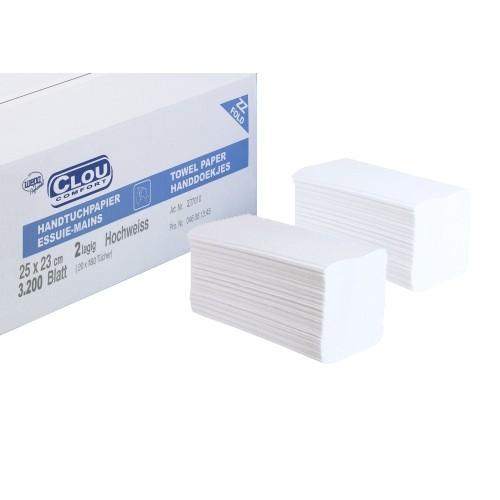 Wepa Листовые полотенца для рук. Белые – 65 %
