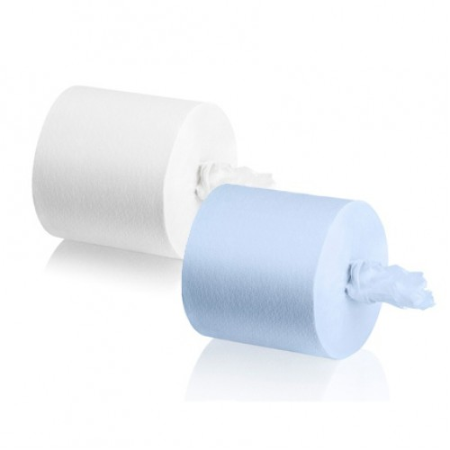 WEPA Бумажные полотенца в рулонах для сенсорных диспенсеров, белые, синие