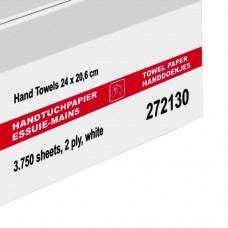 Wepa Листовые полотенца для рук, целлюлоза, белые