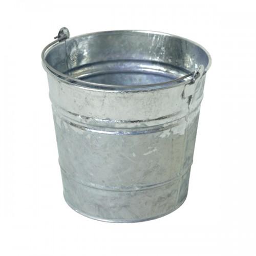 Стальное гальванизированное ведро 12 литров