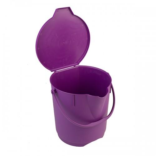 Anti-Microbial ведро с рукояткой, 12 литров