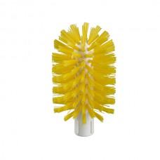 Средняя 175 x 95mmø пластиковая щетка желтая