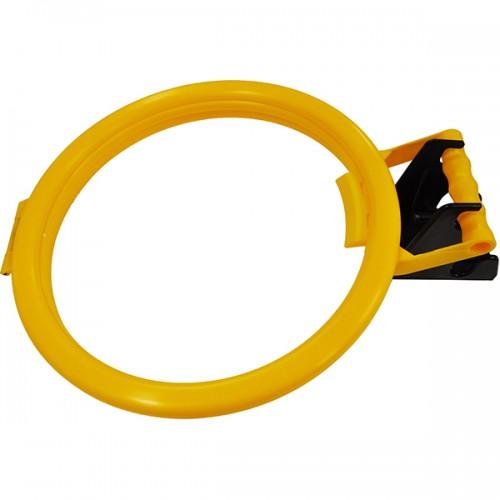 Полипропиленовый обруч 355mmø для мешков с настенным кронштейном 120mm