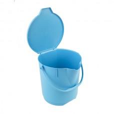 Anti-Microbial ведро с крышкой, 12 литров