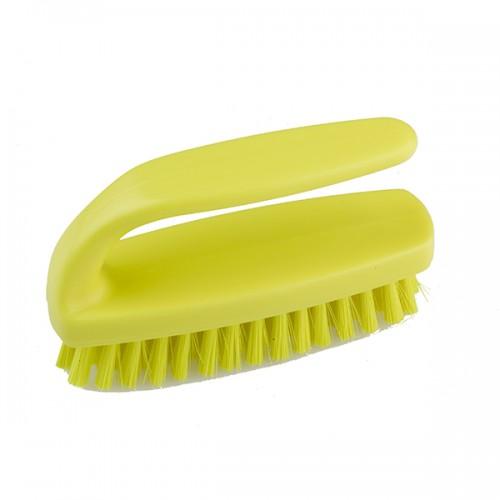 Professional средняя щетка 102mm  для ногтей с захватом