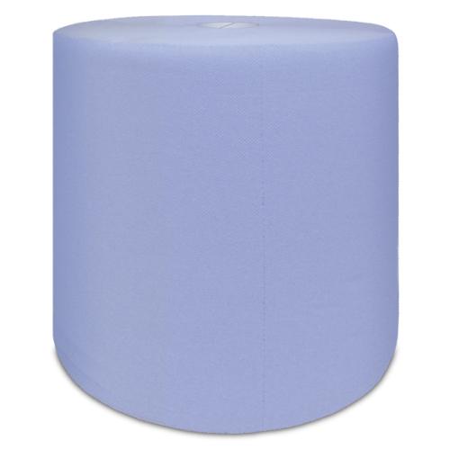 WEPA Промышленная рулонная бумага, протирочный материал,1000 листов в рулоне, синяя